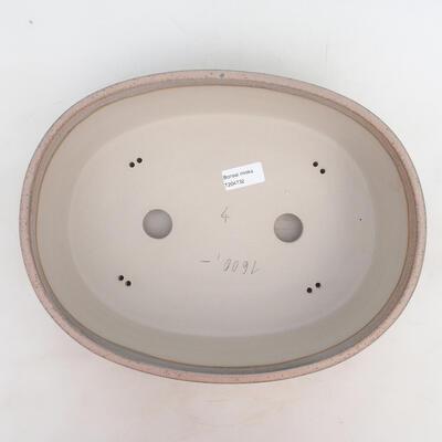 Bonsai-Schale 33,5 x 26 x 9,5 cm, grau-beige Farbe - 3