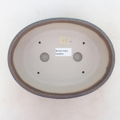 Bonsai-Schale 22 x 17 x 7 cm, Farbe grau - 3