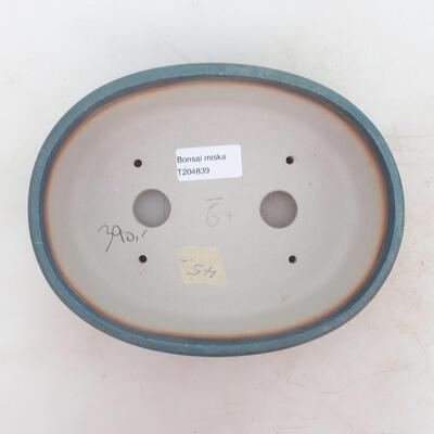 Bonsai-Schale 20 x 15,5 x 6 cm, Farbe blau - 3
