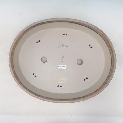 Bonsai-Schale 45 x 35,5 x 8,5 cm, Farbe beige-grau - 3