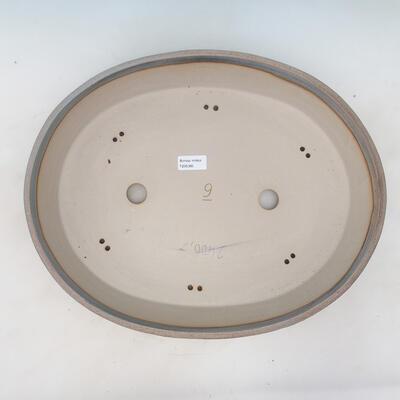 Bonsai-Schale 44,5 x 35,5 x 8,5 cm, Farbe beige-grau - 3