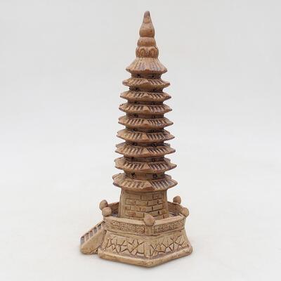 Keramikfigur - Pagode F15-1 - 3
