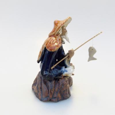 Keramik-Figur - Fisherman - 3