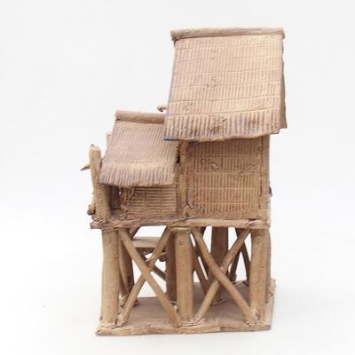 Keramikfigur - Hütte F18 - 3