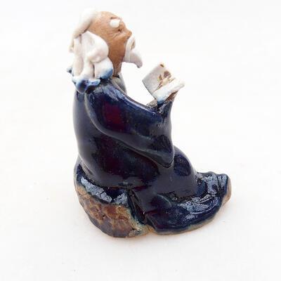 Keramikfigur - Strichmännchen H0-4tm - 3