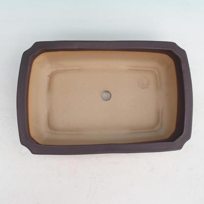 Bonsaischale aus Keramik H 07 - 30 x 21,5 x 8,5 cm - 3