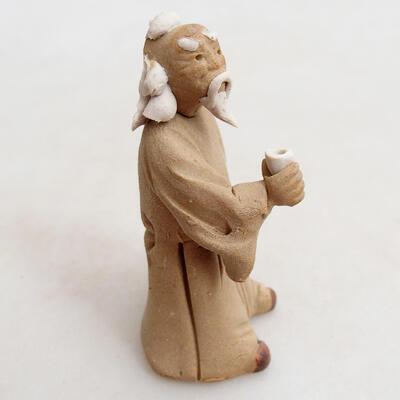 Keramikfigur - Strichmännchen H27p - 3