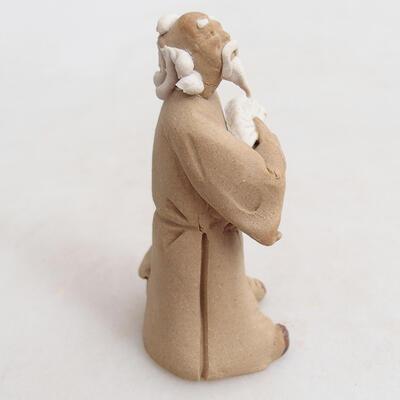 Keramikfigur - Strichmännchen H27v - 3