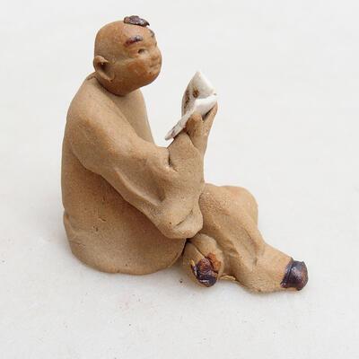 Keramikfigur - Strichmännchen I3 - 3