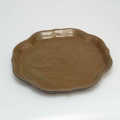 Bonsai Schüssel Tablett H06 - Schüssel 14,5 x 14,5 x 4,5, Tablett 13,5 x 13,5 x 1,5 cm - 3