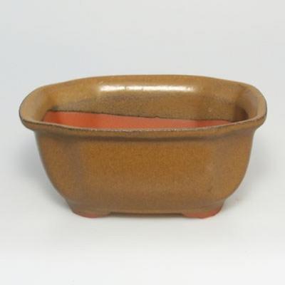 Bonsai Schüssel Tablett H32 - Schüssel 12,5 x 10,5 x 6 cm, Tablett 12,5 x 10,5 x 1 cm - 3