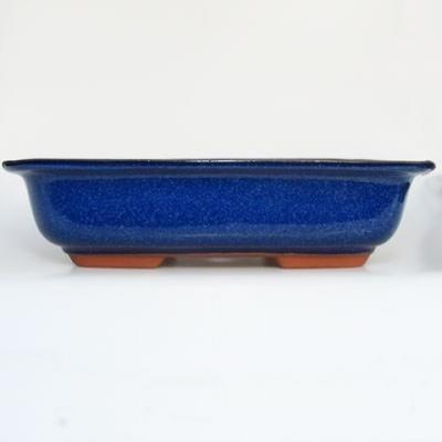 Bonsaischale + Tablett H09 - Schüssel 31 x 21 x 8 cm, Tablett 28 x 19 x 1,5 cm - 3