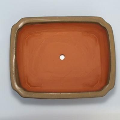 Bonsaischale aus Keramik H 20 - 26,5 x 21 x 7,5 cm - 3