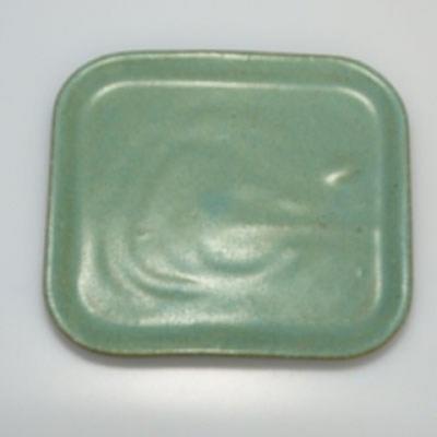Bonsaischale + Tablett H37 - Schüssel 14 x 12 x 7 cm, Tablett 14 x 13 x 1 cm - 3