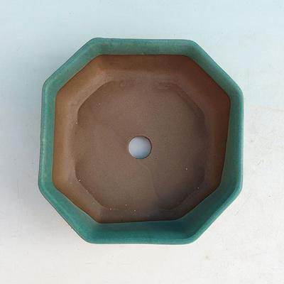 Keramik Bonsai Schüssel H 13 - 11,5 x 11,5 x 4,5 cm - 3