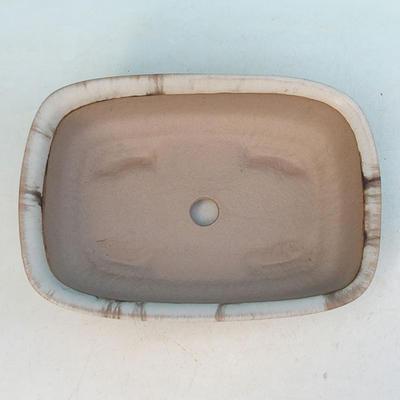 Bonsaischale aus Keramik H 02 - 19 x 13,5 x 5 cm - 3