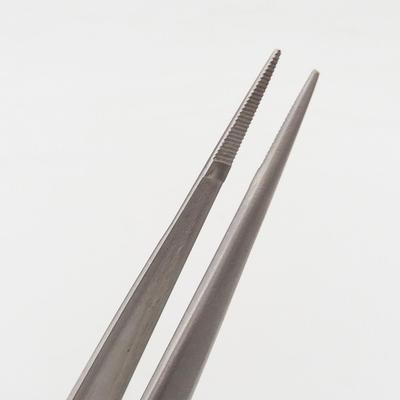 Pinzette und greifen 22 cm - Edelstahl - 3
