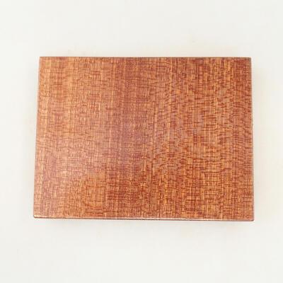 Holztisch unter dem Bonsai braun 12 x 9 x 1,5 cm - 4
