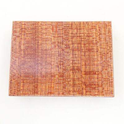 Holztisch unter dem Bonsai braun 8 x 6 x 1,5 cm - 4