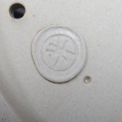 Bonsai-Schale 31 x 24,5 x 10 cm, Farbe beige-grau - 4