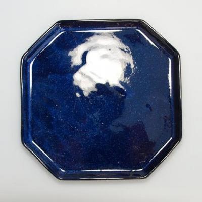 Bonsai Schüssel Tablett H14 - Schüssel 17,5 x 17,5 x 6,5, Tablett 17,5 x 17,5 x 1,5 - 4