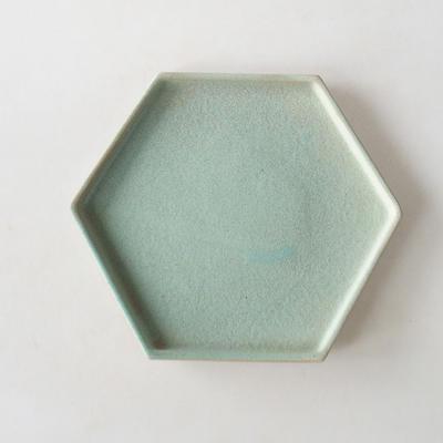 Bonsai Schüssel + Untertasse H 57 - Schüssel 19 x 18 x 7,5 m, Untertasse 19 x 18 x 1,5 cm - 5